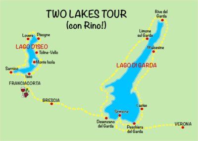 Mappa Laghi