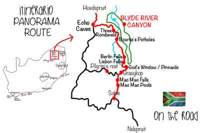 Itinerario Panorama Route