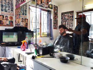 Parrucchiere sudafricano