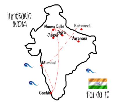 Come organizzare un viaggio in India fai da te